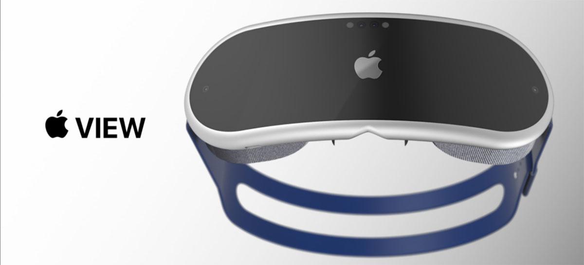 Headset de Realidade Aumentada da Apple deverá trazer 15 câmeras e tela microLED