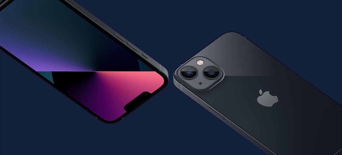 FaceID do iPhone 13 para de funcionar se a tela for trocada por outra que não seja da Apple