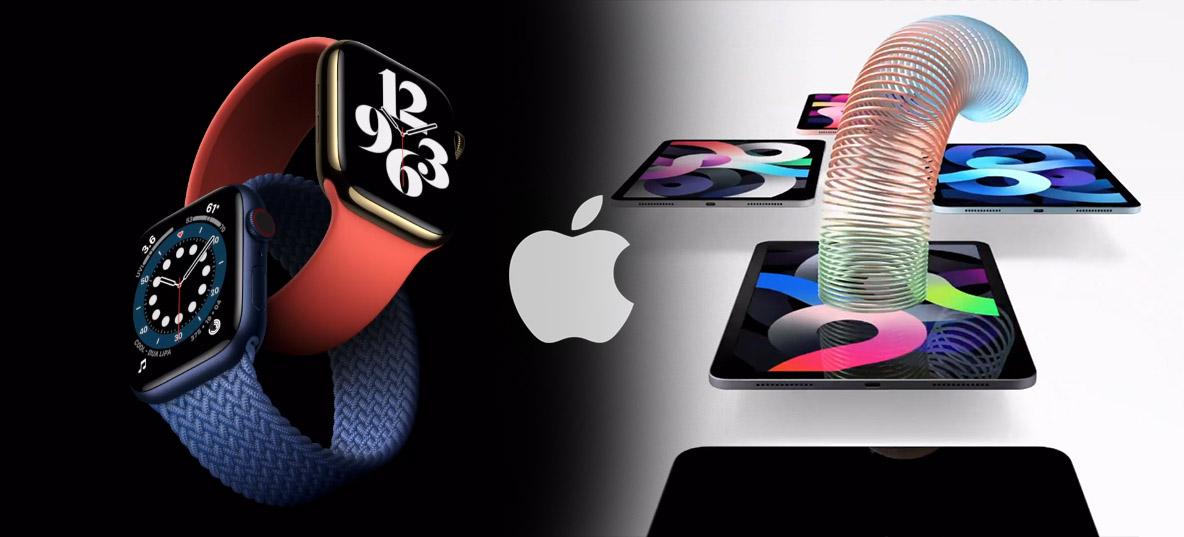 Apple anuncia Apple Watch Series 6 e novo iPad Air COM USB-C, mas nada de iPhone