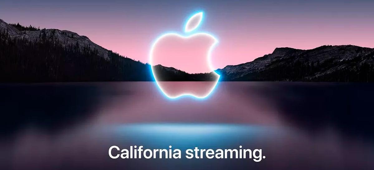 iPhone 13: Apple anuncia evento para 14 de setembro