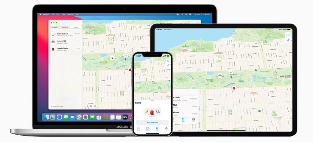 App Buscar Meu iPhone passa a funcionar com dispositivos que não são da Apple