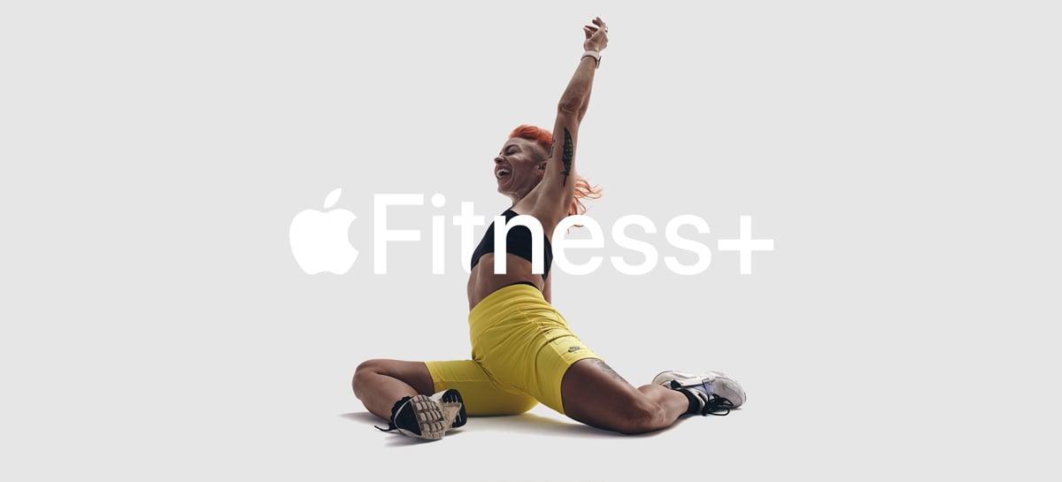Apple Fitness+ é um novo serviço de fitness virtual que funciona com o Apple Watch