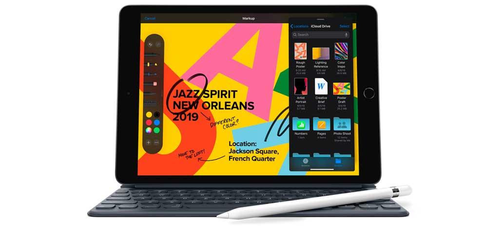 Novo iPad chega com tela de 10,2 polegadas, iPadOS e Apple Pencil por US$329