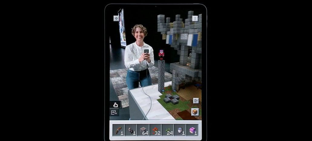 Microsoft exibe gameplay de Minecraft Earth em apresentação da Apple