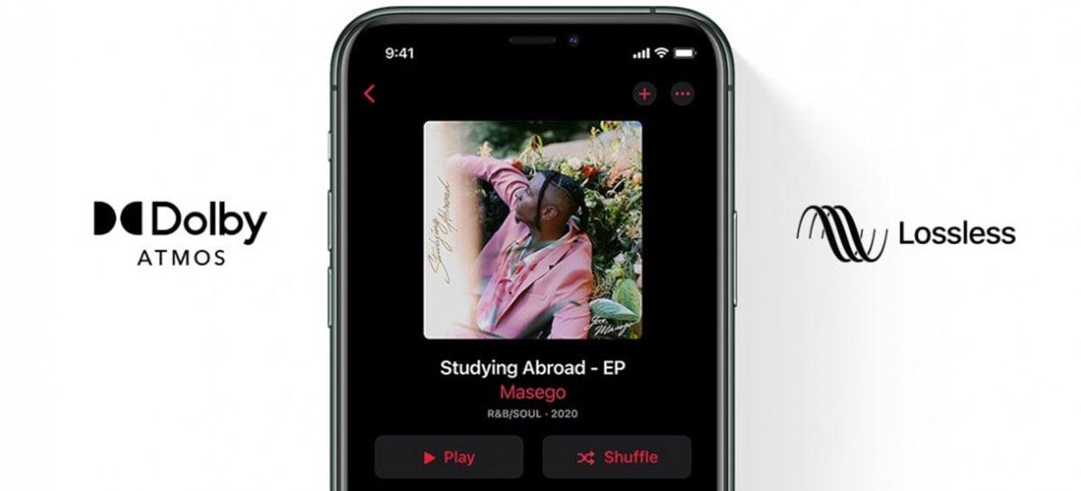 Apple Music habilita áudio sem perdas, mas AirPods e HomePods não trazem suporte