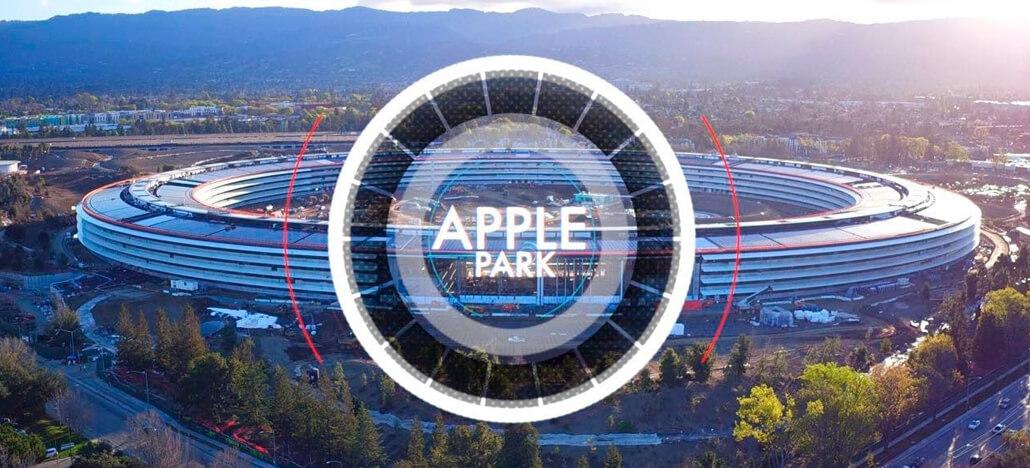 Confira um tour completo por cima de todo o Apple Park
