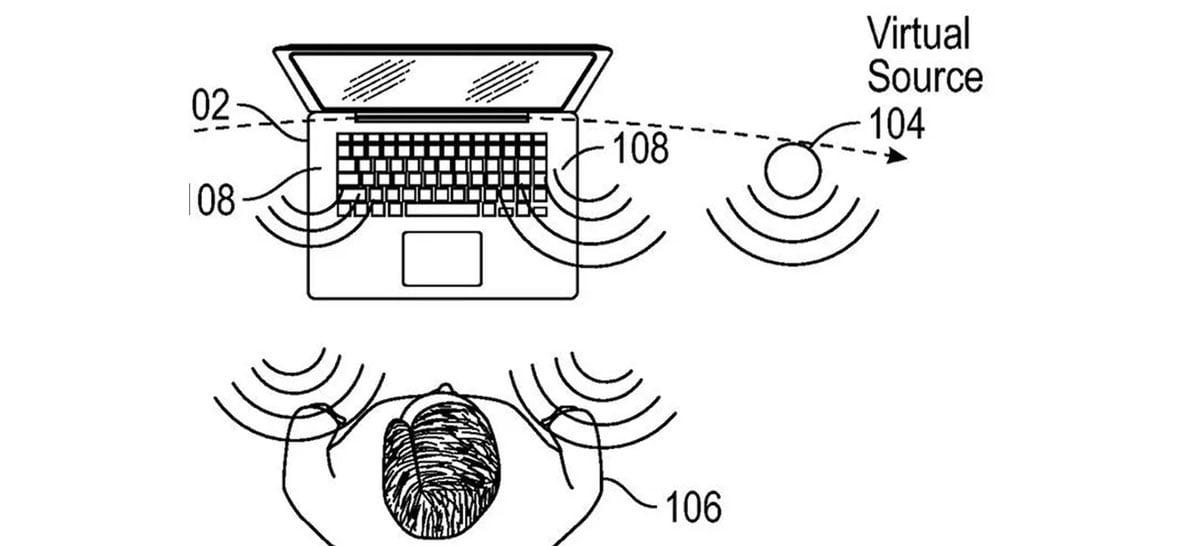 Apple patenteia alto-falantes virtuais que simulam sons de qualquer lugar do quarto
