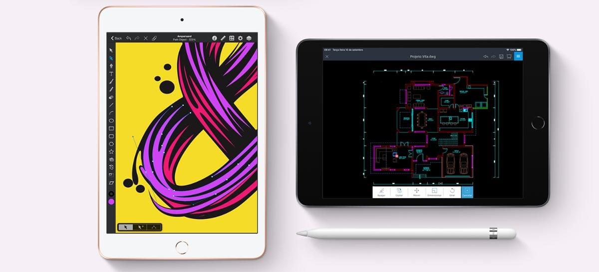 Apple pode apresentar um visual inédito com o novo iPad Mini 6