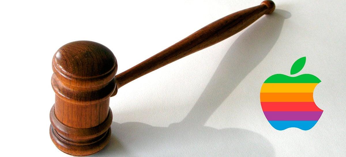Apple acusa pequena empresa de infração de patente, mas perde o processo