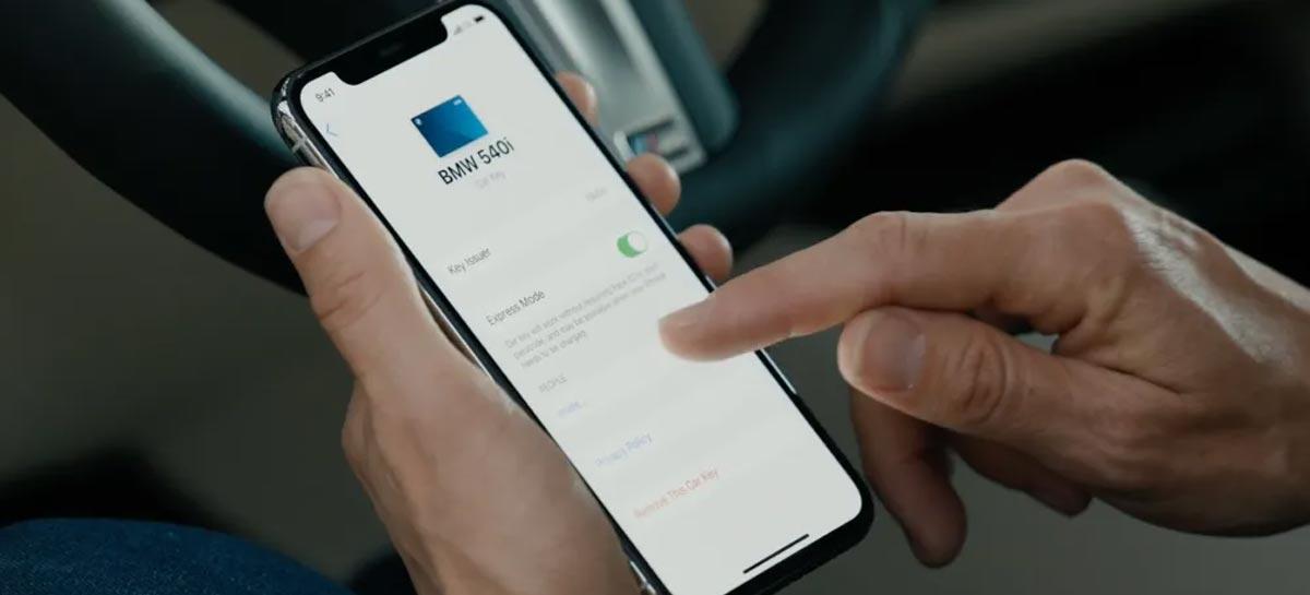 Apple CarKey permite que iPhone seja utilizado como chave de carro