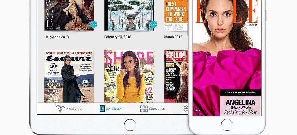 Apple adquire Texture, serviço de assinatura de revistas digitais