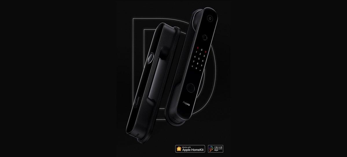 Xiaomi Aqara D100 é a nova fechadura inteligente compatível com HomeKit e Mijia