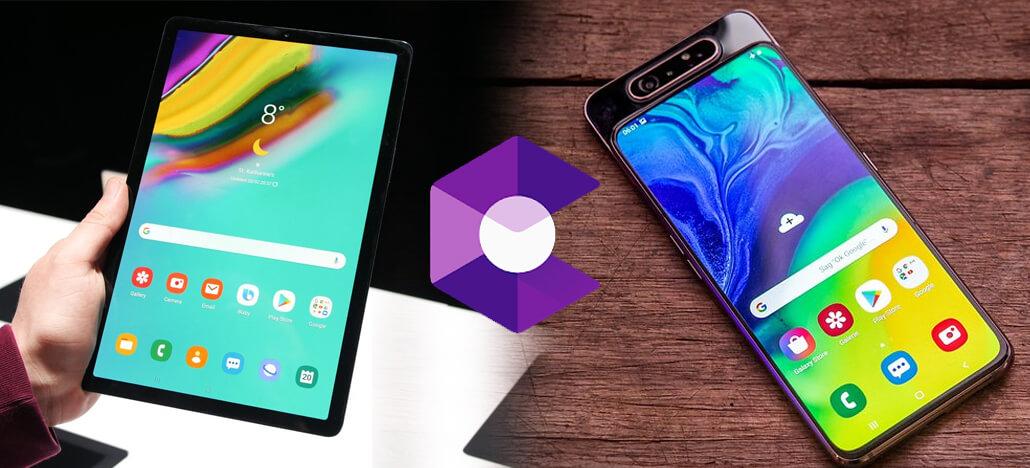 Suporte para Google ARCore chega aos Galaxy A30 até A80 e Galaxy Tab S5e