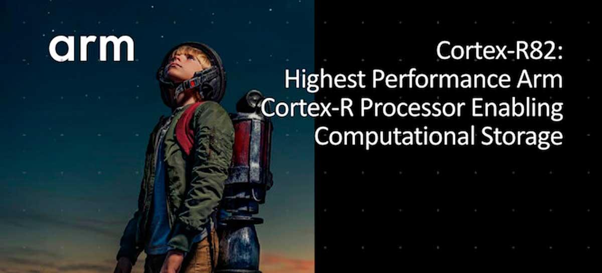 Arm Cortex-R82 é o novo processador 64 bits, com capacidade para atender Linux