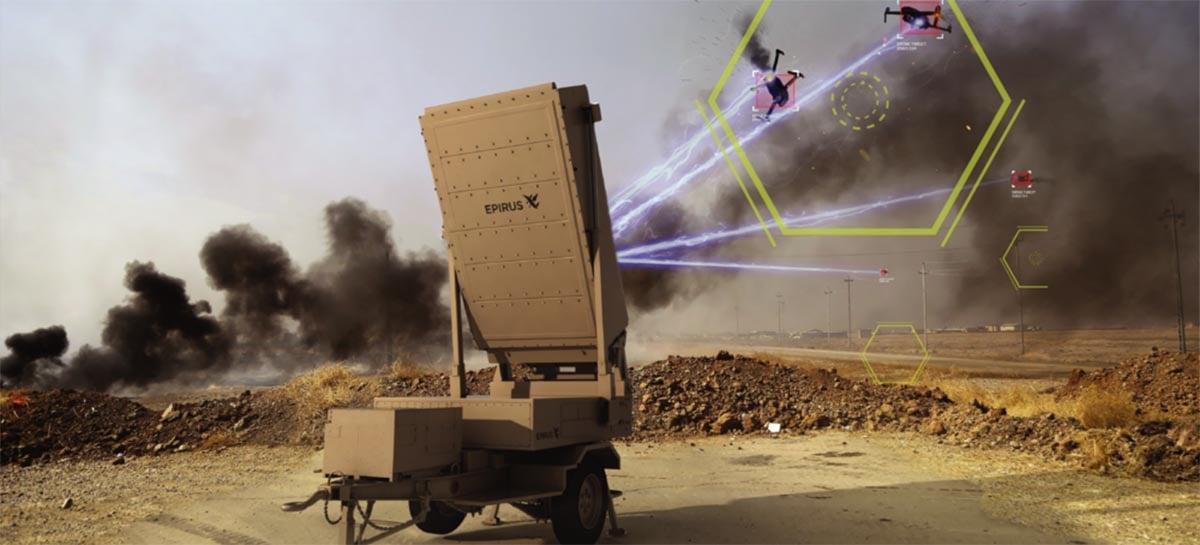 Arma anti-drone é capaz de queimar aeronaves durante voos