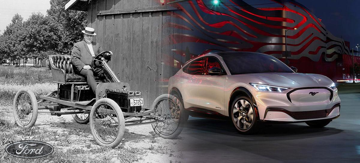 De protótipos esquecidos aos híbridos: conheça a história dos carros elétricos da Ford!