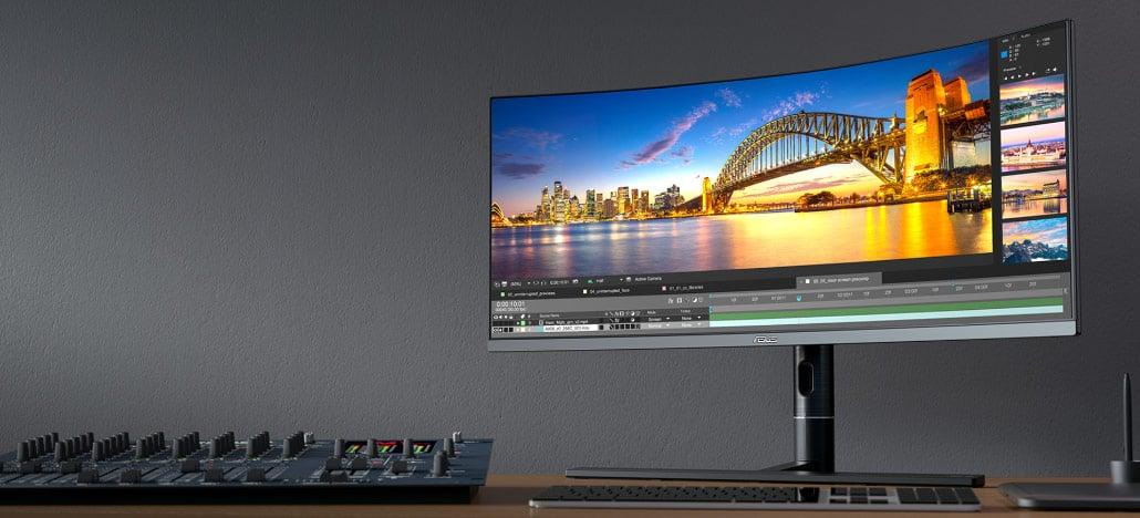 Asus lança seu novo monitor profissional, o ProArt PA34VC, com tela de 34'' em 21:9
