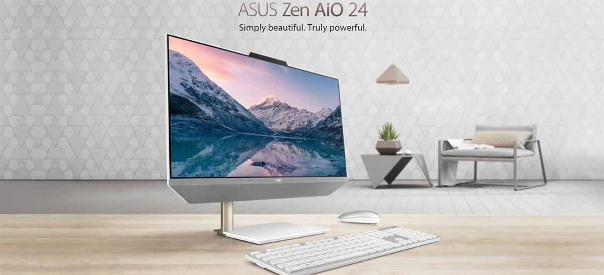 Asus lança computador All-in-One Zen AiO 24 A5401W com CPUs AMD Ryzen ou Intel