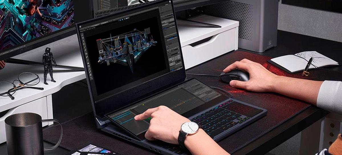 Notebook Asus RoG Zephyrus Duo 15 chega ao Brasil por R$44k