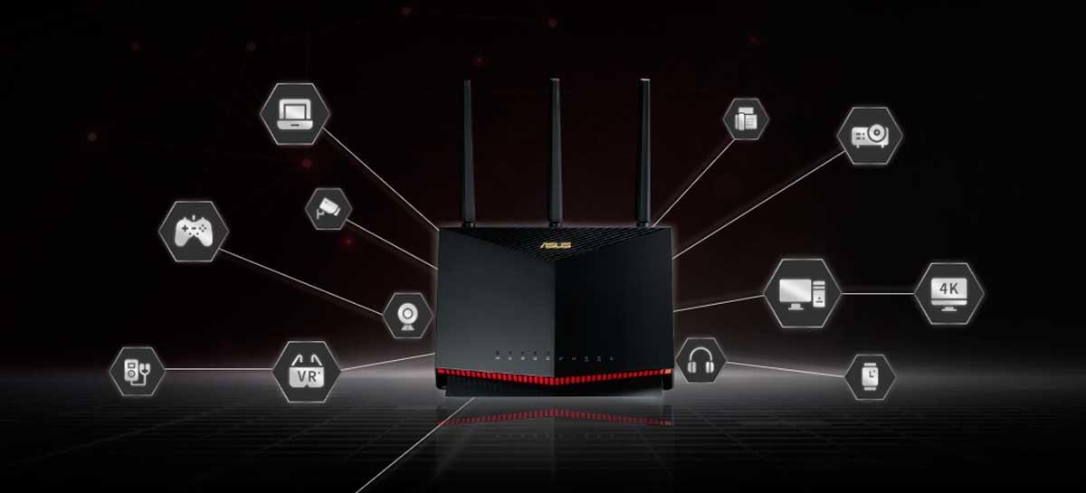Asus anuncia roteadores RT-AX82U e RT-AX86U com Wi-Fi 6 voltado para gamers