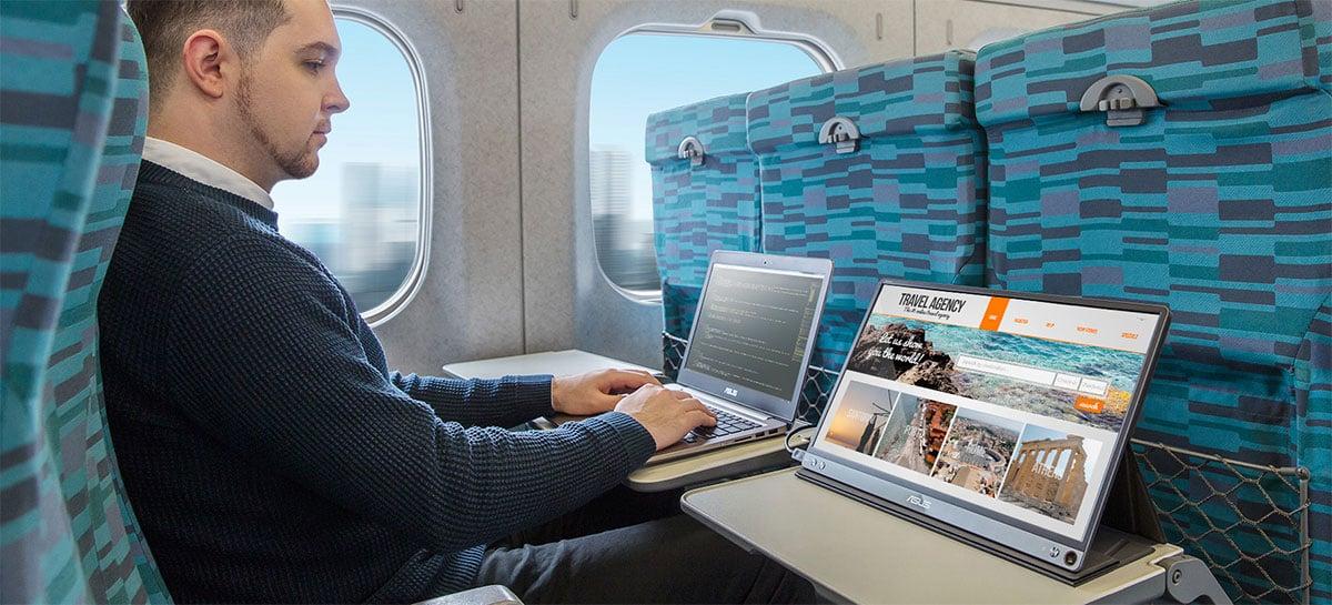 Asus ZenScreen foi o monitor portátil mais vendido em 2019