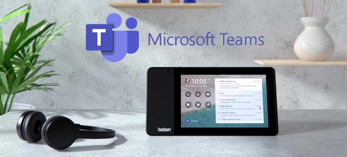 Atualização do Microsoft Teams traz suporte ao CarPlay e outros recursos