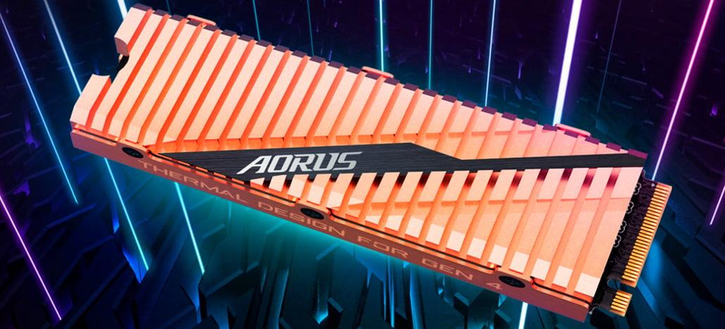 """Gigabyte lança o SSD AORUS NVMe Gen4, primeiro com PCIe 4.0, e é """"o mais rápido do mundo"""""""