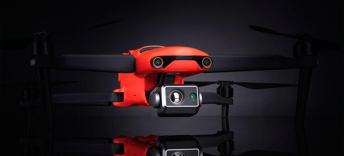 """Empresa chinesa Autel começa nova campanha """"feito nos EUA"""" para Drone EVO II Dual"""