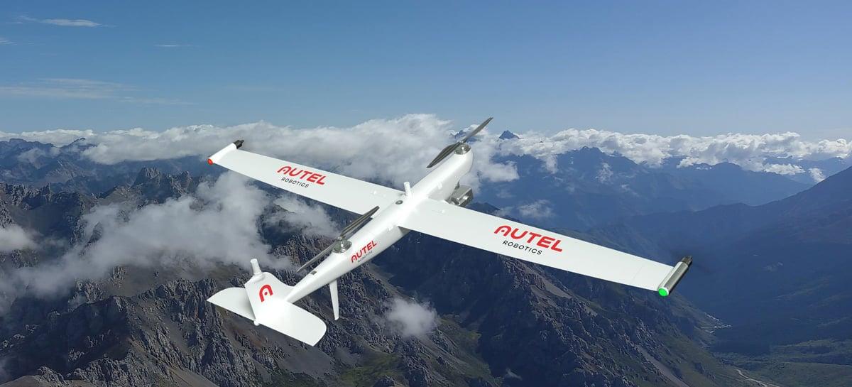 Autel Robotics lança na China o drone Autel Dragonfish com asas fixas