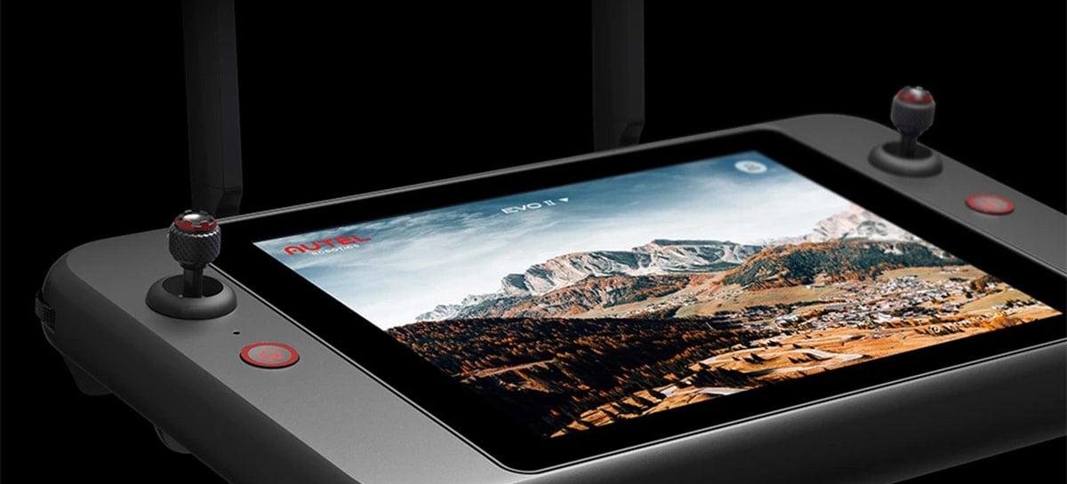 Novo Smart Controller da Autel para o Evo II anunciado por US$ 1.200