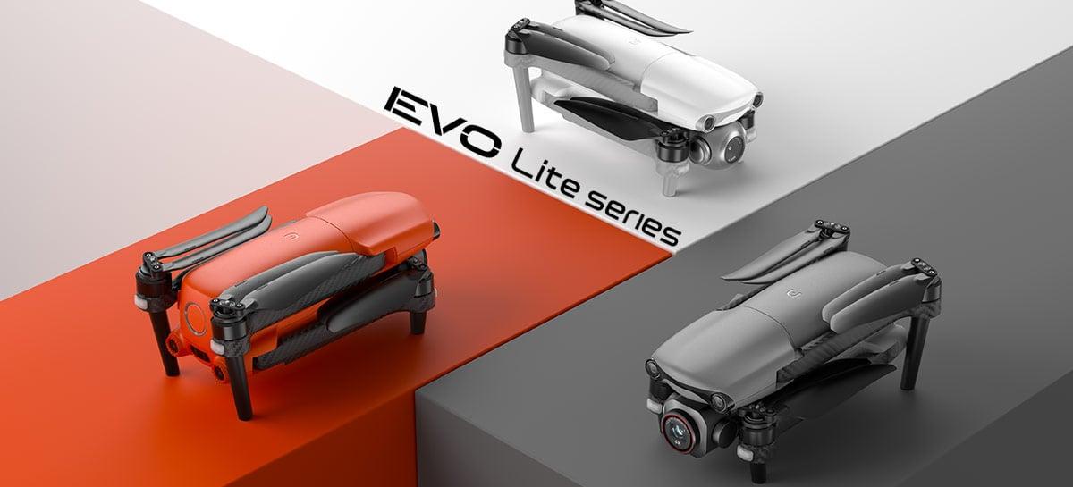 Drones Autel EVO Lite são anunciados: Câmera 6K, 40 minutos de voo e 12km