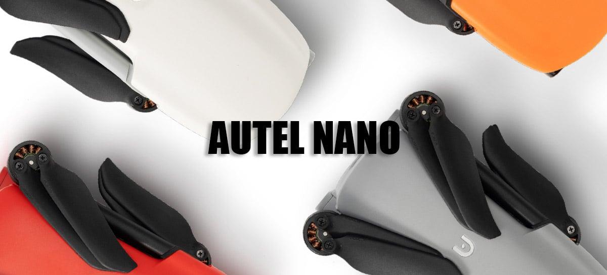 Drone Autel EVO Nano será lançado logo e vai concorrer diretamente com DJI Mini 2