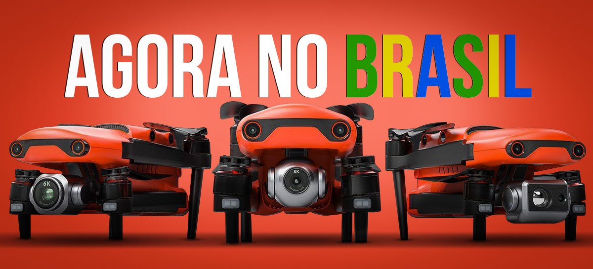 EXCLUSIVO: Drones de alta qualidade Autel Robotics agora no Brasil