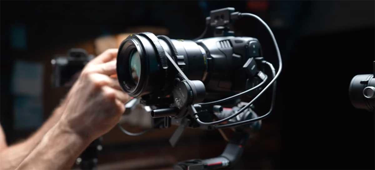 Módulo DJI Lidar 3D adiciona autofoco em qualquer lente com foco manual