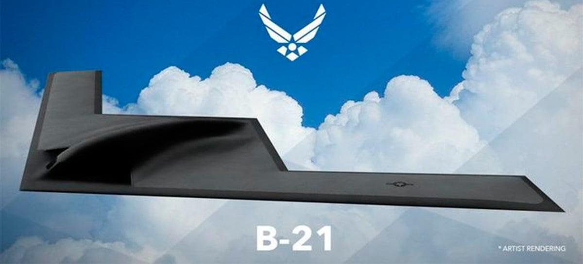 B-21 Raider: conheça o novo avião bombardeiro norte-americano invisível a radares