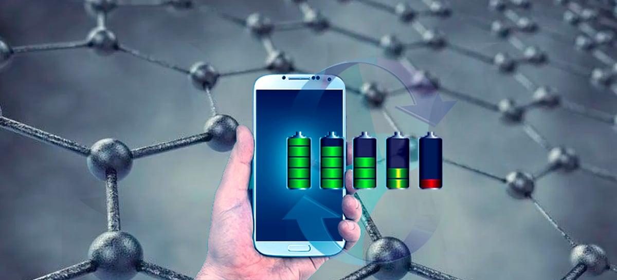 Baterias de grafeno estão prontas e podem ser utilizadas em celulares em 2020