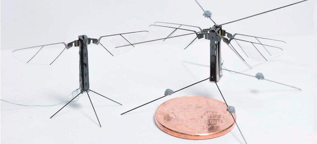 Conheça o Bee+, robô minúsculo que voa como se fosse um inseto
