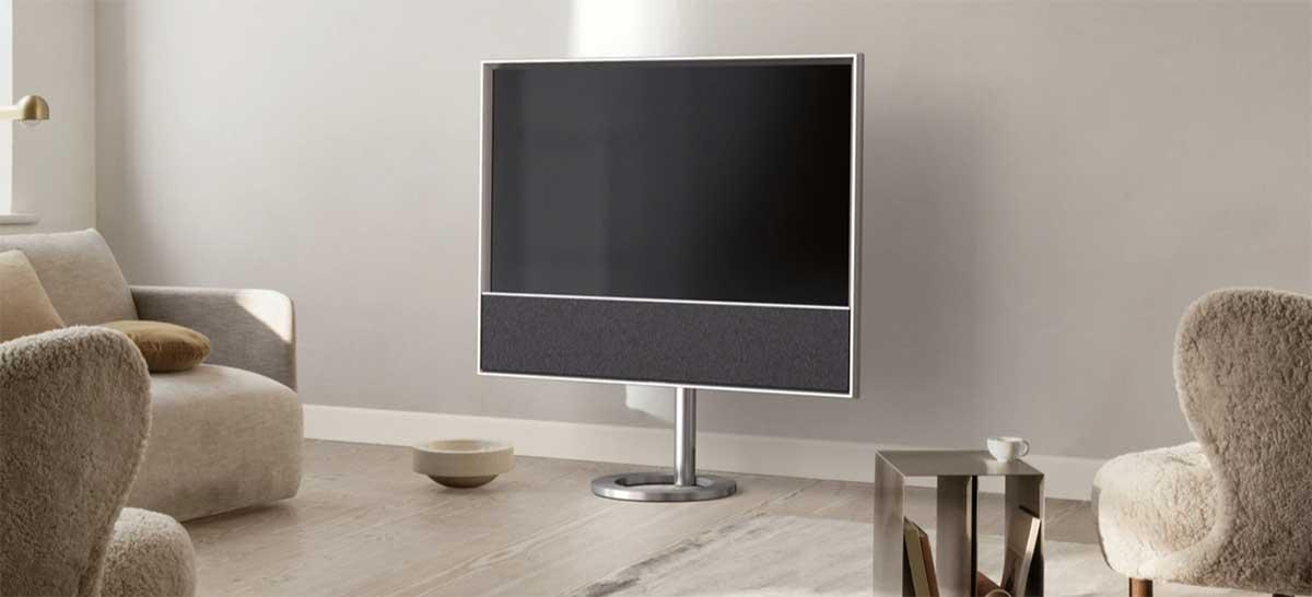 Smart TV de luxo da Bang & Olufsen com som de cinema chega em 2021 por € 5.000