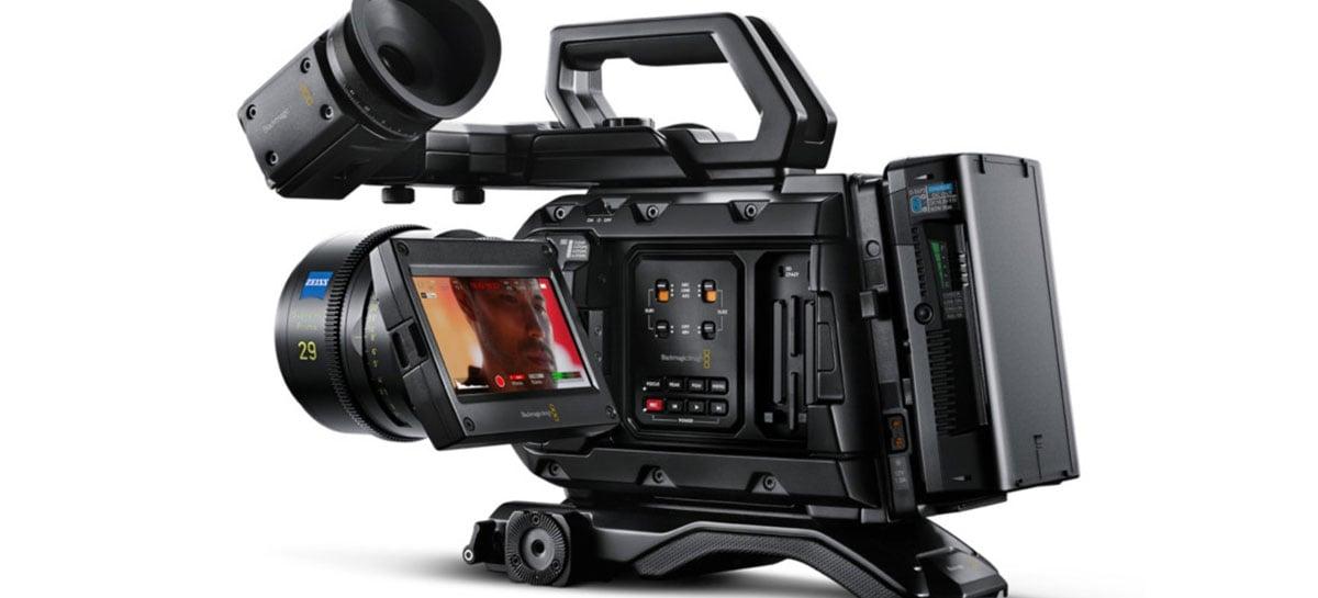 Nova câmera da Blackmagic grava em 12K 60fps e custa U$9.995