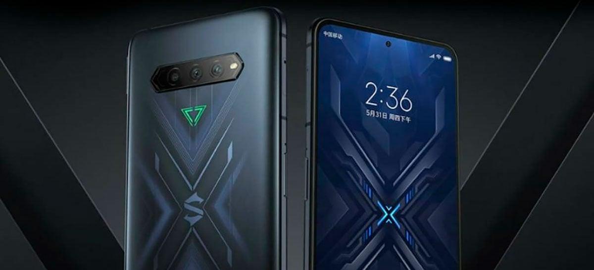 Black Shark 4, smartphone gamer da Xiaomi, terá tela AMOLED e taxa de atualização de 144Hz
