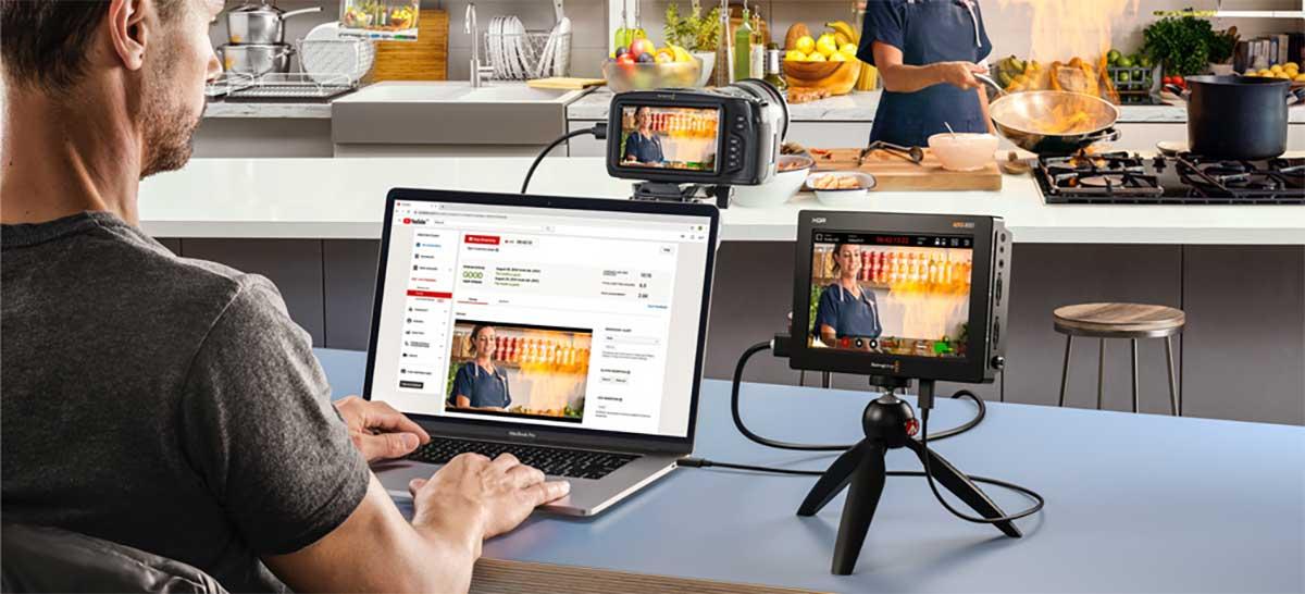 Blackmagic Video Assist recebe suporte para webcam via USB-C