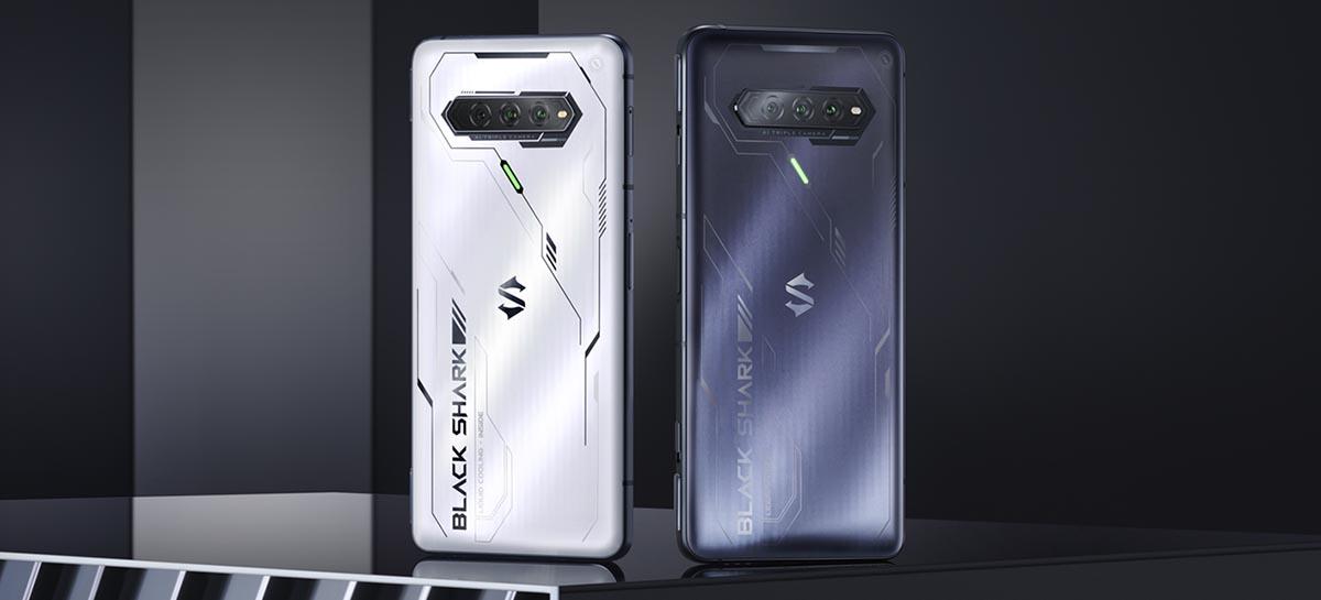 Black Shark 4S Pro anunciado com Snapdragon 888 Plus, SSD e carregamento de 120W