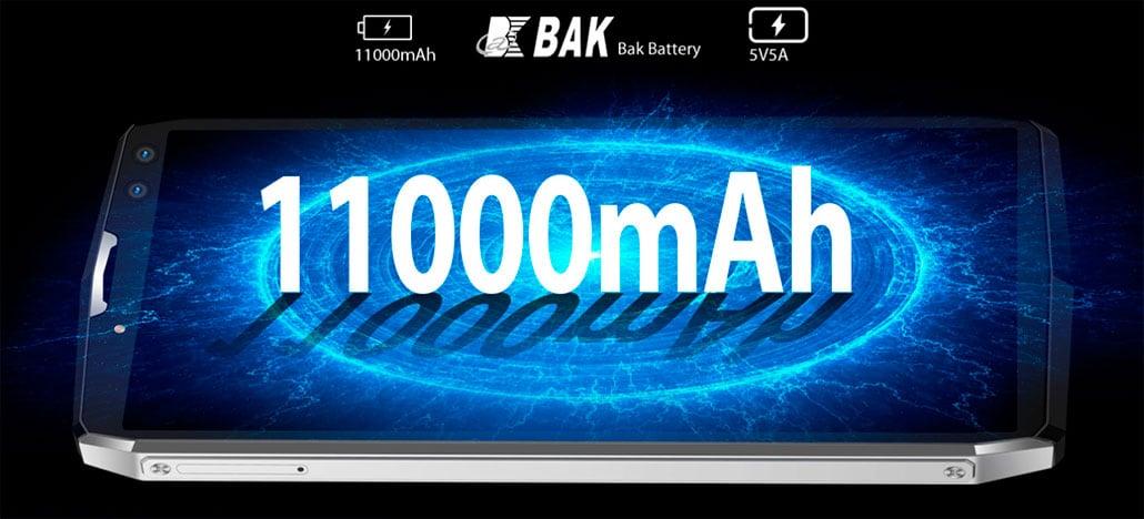 Blackview anuncia smartphone P10000 Pro com incríveis 11.000mAh de bateria