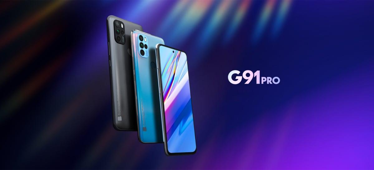 Smartphone Blu G91 Pro é lançado com chip MediaTek Helio G90 e 6GB de RAM