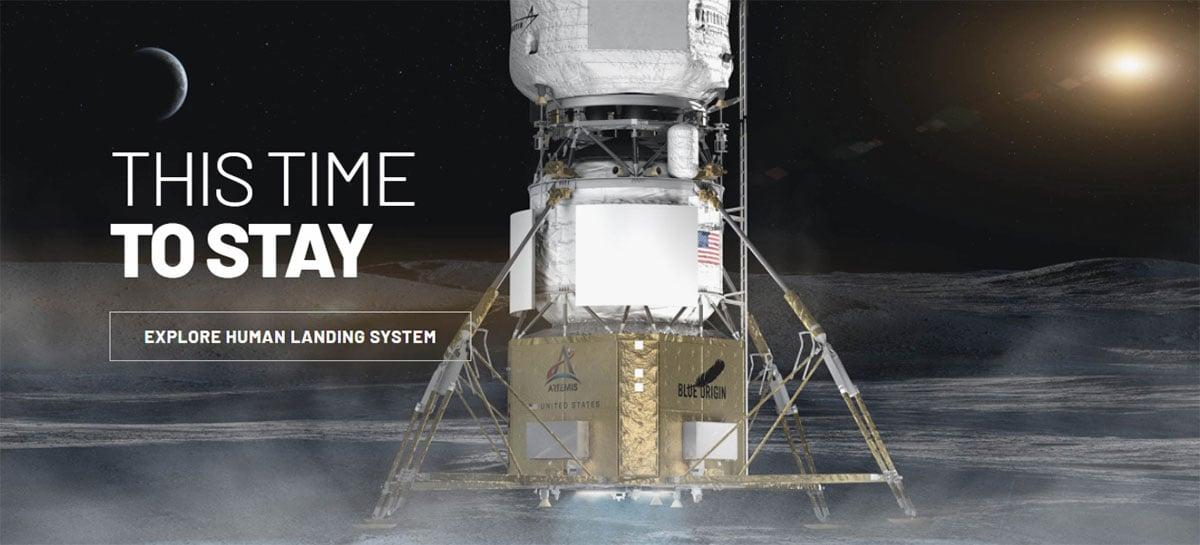 Empresa de Jeff Bezos, Blue Origin protesta contrato da NASA com a SpaceX