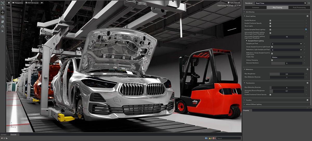 BMW e Nvidia anunciam parceria para ferramenta de planejamento virtual de fábricas