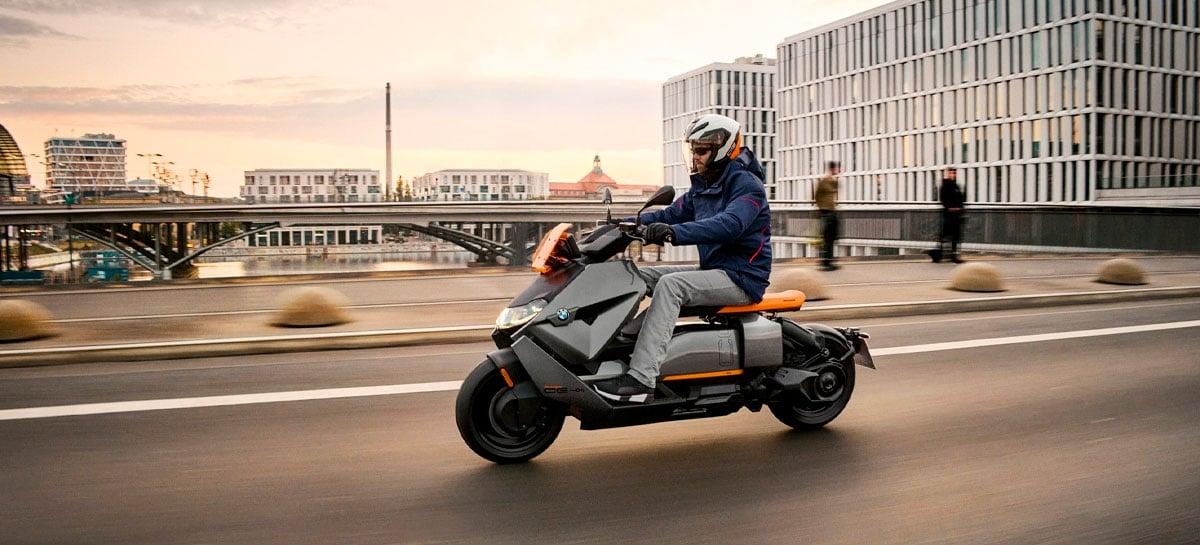 BMW Motorrad anuncia sua nova scooter elétrica CE 04