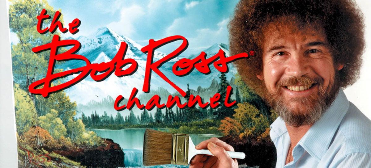 Famoso pintor Bob Ross ganha seu próprio canal grátis em Smart TVs