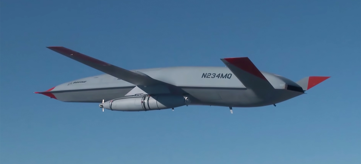 Drone de reabastecimento MQ-25 da Boeing conclui voo de teste