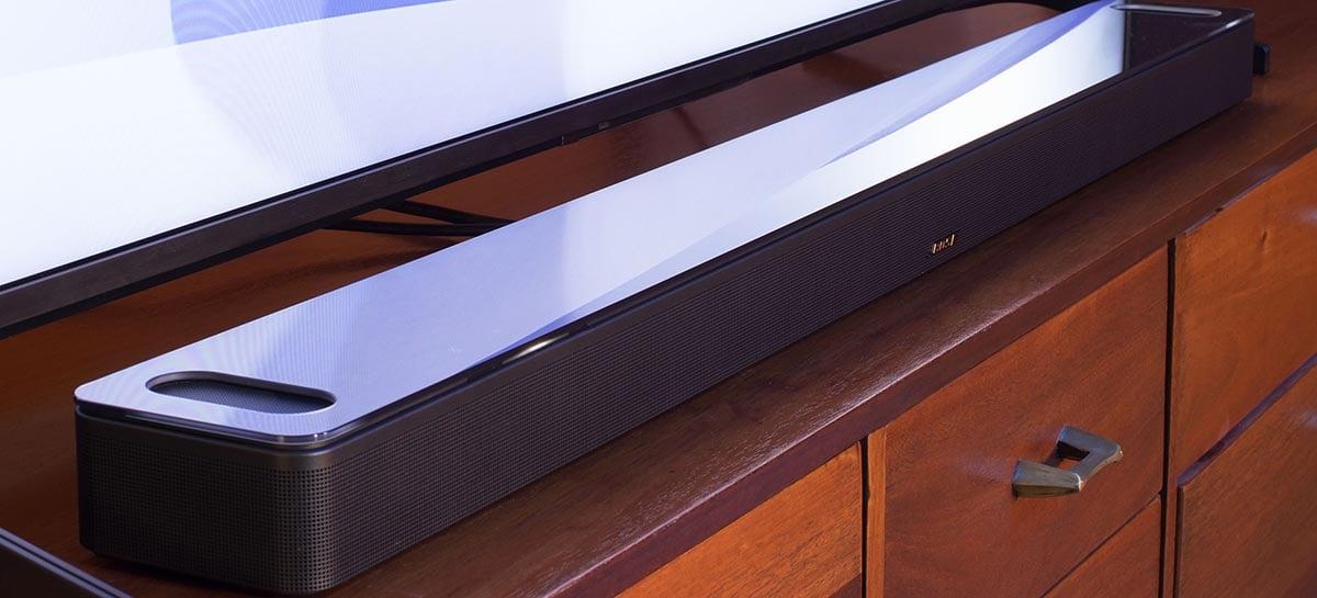Bose lança sua primeira Smart Soundbar compatível com Dolby Atmos
